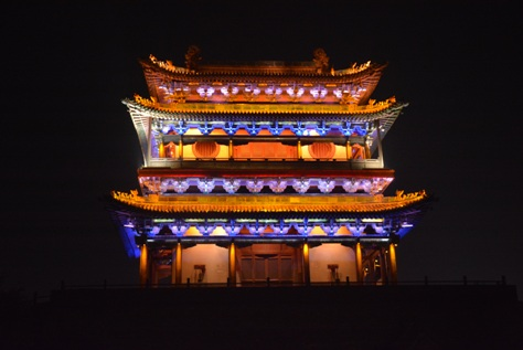 Pingyao Night South Gate 2014