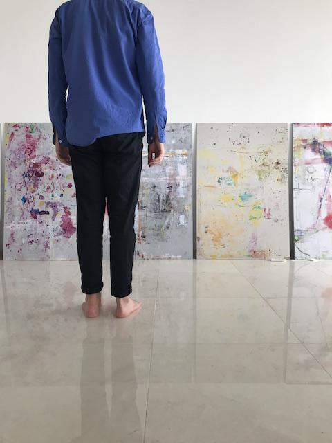 Richard Maloy artist studio, Vladivostok, Russia