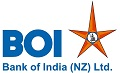 Bank of India NZ logo