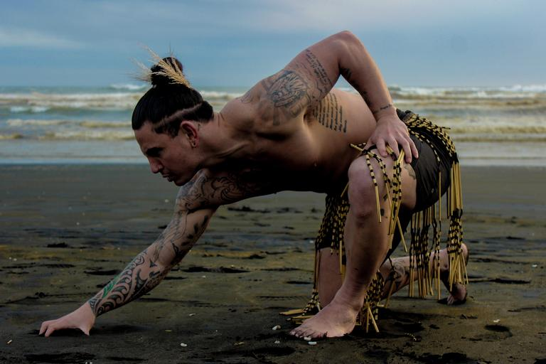 Mother earth - our land, Aotearoa. A fierce, powerful image taken on the west coast beach Muriwai.