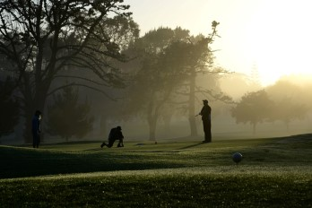 Maria Hyun;Early Morning on the Waitemata Golf Course