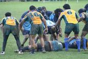 Suzette Bothma; Rugby, rain & mud; Taken at Orakei Domain