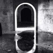 Michael Nel; Gateway; Taken inside the silo at Wynyard Quarter at the recent Photography festival